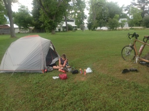 3a-Camping at Perdue Hill, AL
