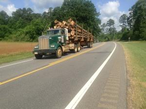 logging truck - AL