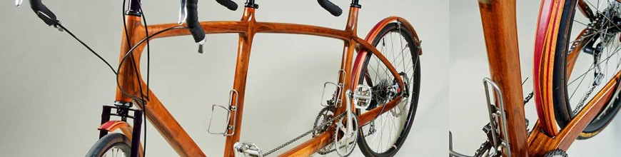 hand made wooden bicycle frames