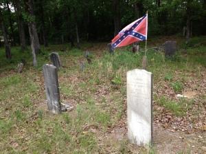 3-Confederate Flag gravestone
